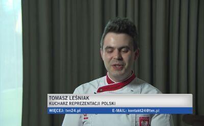 Tomasz Leśniak od 11 lat jest kucharzem reprezentacji Polski