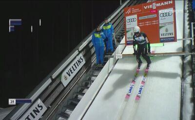 Skok Piotra Żyły w kwalifikacjach w Titisee-Neustadt