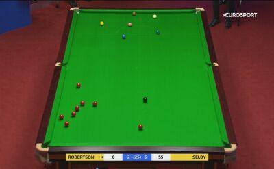 Fartowna pomyłka Robertsona w ćwierćfinale MŚ