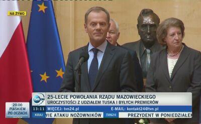 """""""To dzień ważny dla Polaków, niezależnie od poglądów"""""""