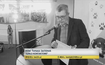 Tomasz Jachimek o rozmowie z Grzegorzem Miecugowem