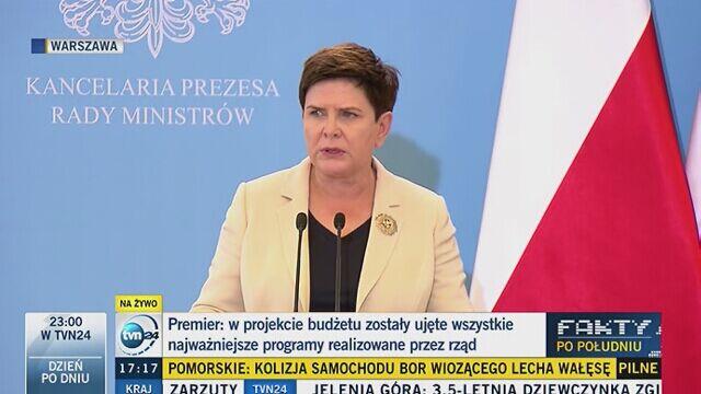 Szydło: mówienie o reparacjach to upominanie się o to, co się Polsce należy