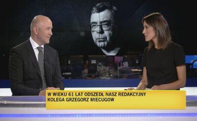 Maciej Sojka wspomina Grzegorza Miecugowa