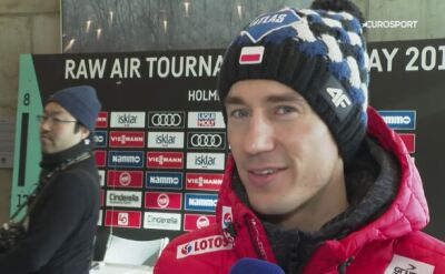 Kamil Stoch przed Raw Air