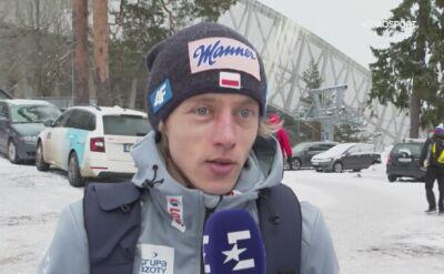 Dawid Kubacki po konkursie drużynowym w Oslo