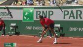 Świetne zagranie Rogera Federera w meczu z Denisem Istominem