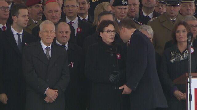 Kilka chwil rozmowy, zaskoczona Kopacz. Spotkanie premier-prezydent