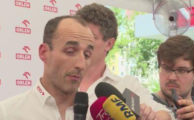 Robert Kubica o poprawie w czasie sezonu