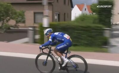 Remco Evenepoel najlepszy na 2. etapie Belgium Tour