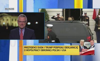 Marcin Wrona o spotkaniu Agaty Kornhauser-Dudy z Melanią Trump