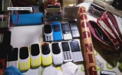 Policjanci zabezpieczyli broń, narkotyki i setki telefonów seksbiznesu