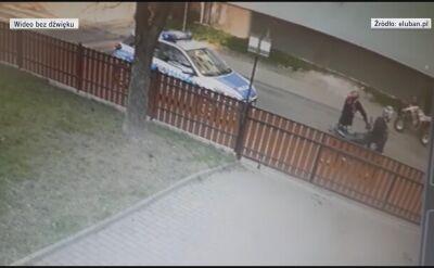 Mężczyzna celowo potrącił policjantkę