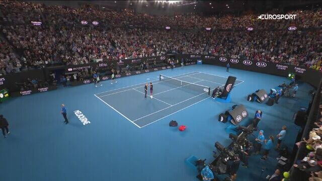 Rozmowa z Rogerem Federerem po meczu 1. rundy Australian Open