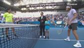 Skrót meczu Milos Raonic - Stefanos Tsitsipas w 3. rundzie Australian Open