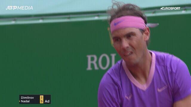 Rafael Nadal awansował do ćwierćfinału turnieju w Monte Carlo