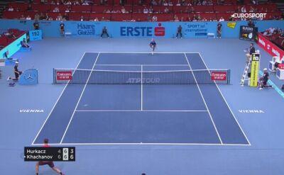 Hubert Hurkacz odpadł w 1. rundzie turnieju ATP w Wiedniu