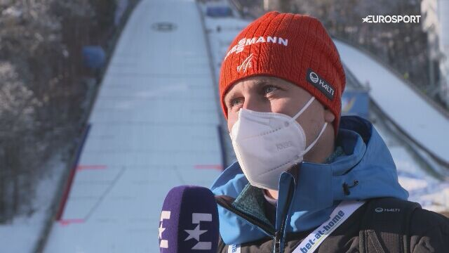 Borek Sedlak przed finałem 69. Turnieju Czterech Skoczni w Bischofshofen