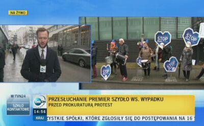 Prokurator dziękuje dziennikarzom TVN24. Za dotarcie do świadka wypadku Szydło