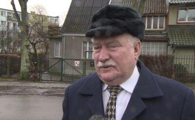 Prezydent Lech Wałęsa o sytuacji na Ukrainie