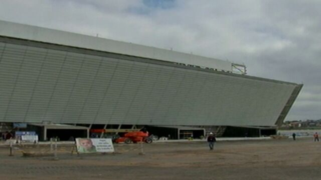 Stadion miał być gotowy w ciągu miesiąca