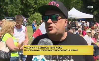 Skiba w Łodzi: to był pierwszy młot, który uderzył w mur komuny