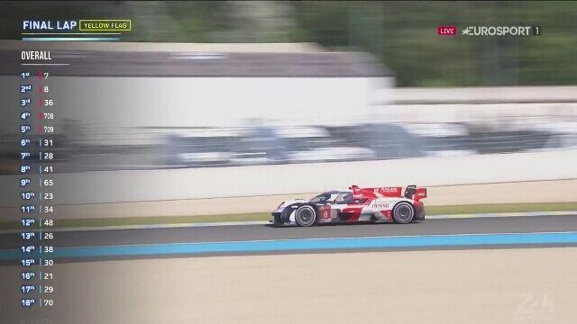 Załoga Toyoty z nr 7 wygrała wyścig 24h Le Mans