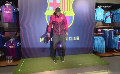 Kevin-Prince Boateng spełni dziecięce marzenia w Barcelonie
