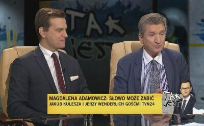 Jakub Kulesza i Jerzy Wenderlich w Tak Jest