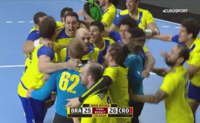 Skrót meczu Brazylia - Chorwacja w fazie grupowej mistrzostw świata