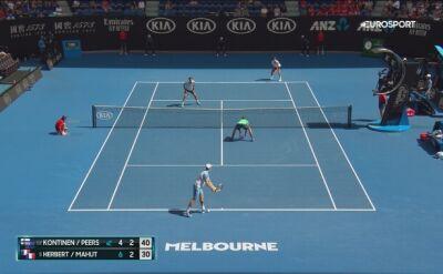 Kapitalna wymiana w finale debla Australian Open