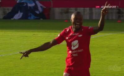 Liga norweska. Brann - Rosenborg 1:0 (gol Gilbert Koomson)
