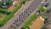 Upadek Landy podczas próby picia na Tour de France