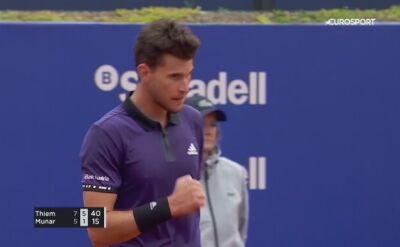Thiem awansował do ćwierćfinału turnieju ATP w Barcelonie
