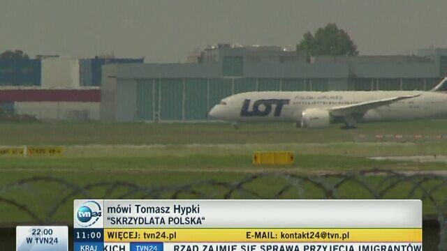Warszawa. Dron bliski zderzenia z samolotem na lotnisku Chopina