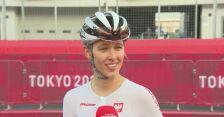 Katarzyna Niewiadoma po wyścigu ze startu wspólnego
