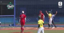 Japonki pokonały Australijki w meczu softballa