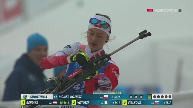Drugie podium Moniki Hojnisz w karierze