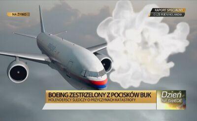 Śledczy ustalili, że w samolot trafiłBuk