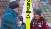 Stefan Hula po kwalifikacjach w Innsbrucku