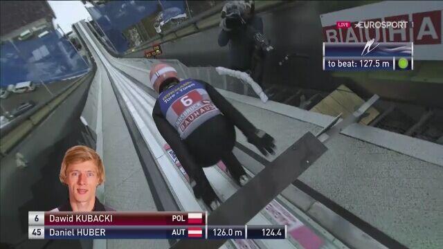Kubacki odpalił petardę w 1. serii w Innsbrucku