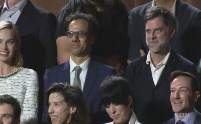 Nominowani do Oscara na rodzinnej fotografii