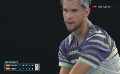 Dominic Thiem pokonał Rafaela Nadala w ćwierćfinale Australian Open