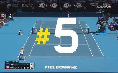 Najlepsze zagrania 9. dnia Australian Open
