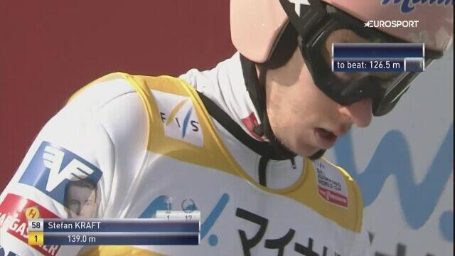 Zwycięski skok Krafta z Sapporo