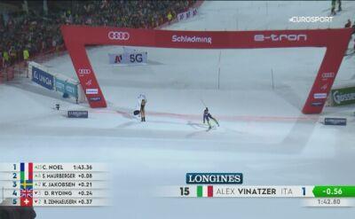 Wolanski wbiegła na murawę finału Ligi Mistrzów, teraz namieszała w slalomie w Schladming