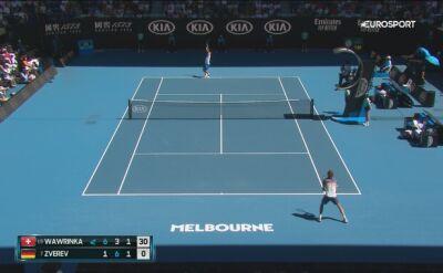Zverev w dobrym stylu awansował do półfinału Australian Open