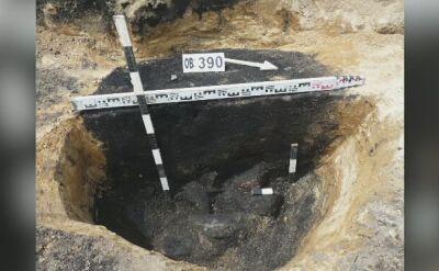 Odkrycie archeologiczne w Wiązowie