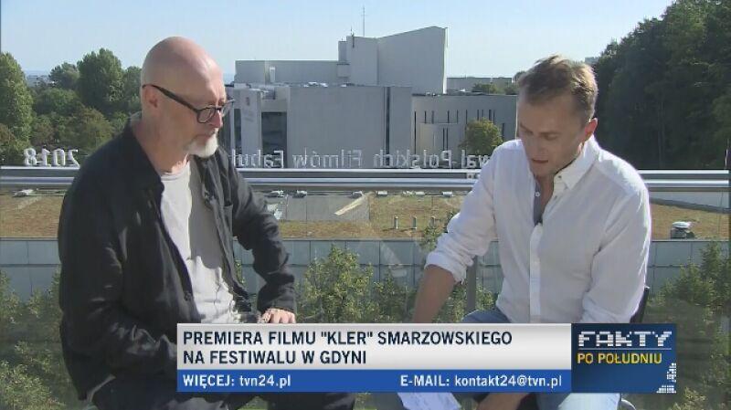 """Smarzowski o filmie """"Kler"""""""