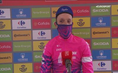Michael Woods po 7. etapie Vuelty
