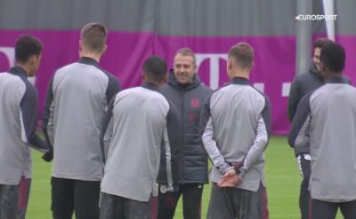 Bayern Monachium trenował przed meczem z Lokomotiwem Moskwa w Lidze Mistrzów